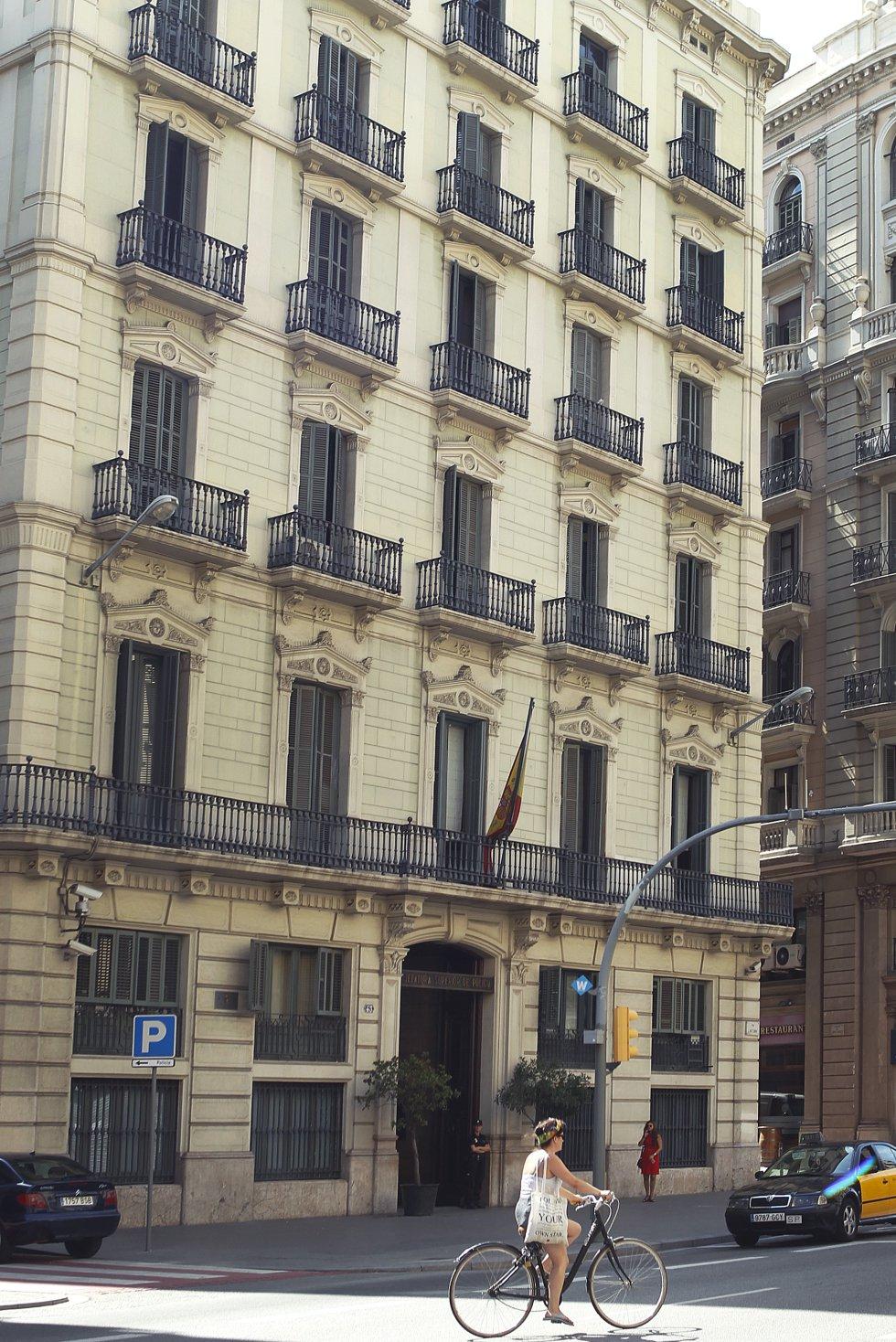 Este edificio fue el cuartel de la temida BPS en Barcelona.