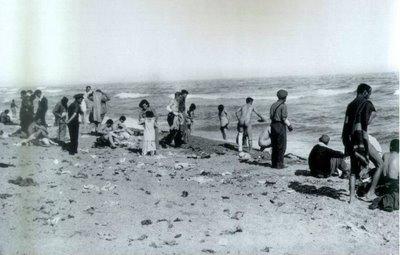 Campo de ¿refugiados? deArgelès sur Mer.