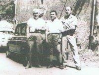 Evaristo Candela, Francisco Gómez Núñez y Eusebio González Pedreira .