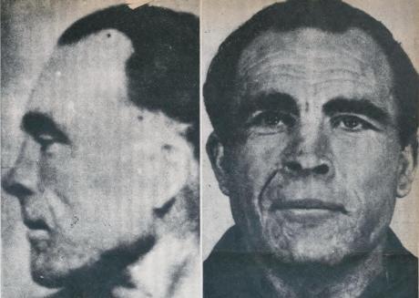 RamVila Capdevila, fotografiado por la policía francesa en 1949.