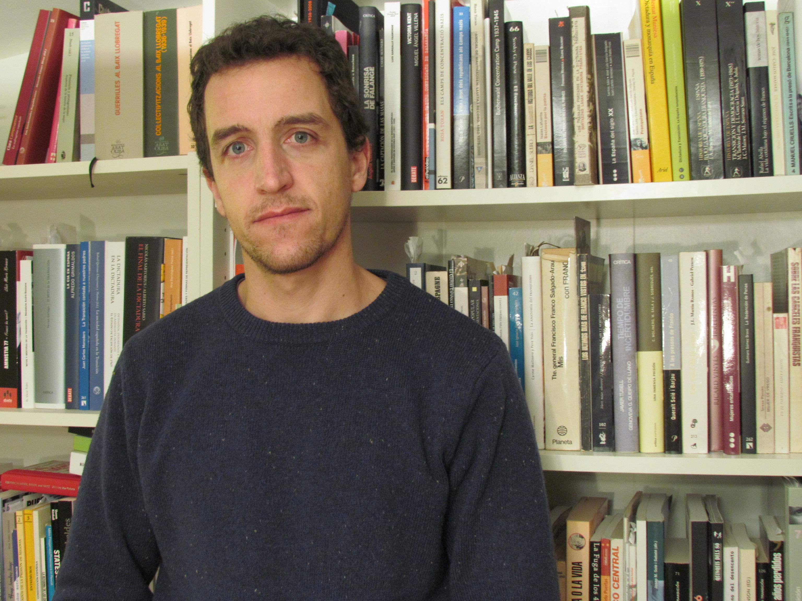 César Lorenzo, autor del libro