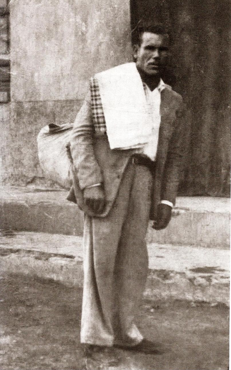 """Antonio IbáñezHuete """"Chato Borrego del Dolar""""."""