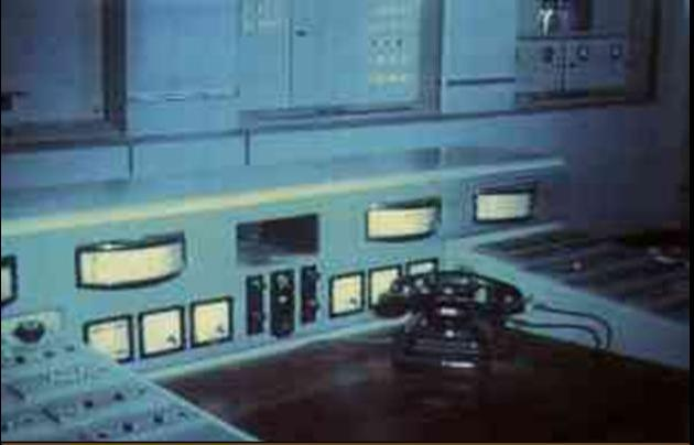 """Estudios de Radio España Independiente """"la Pirenaica"""".En funcionamiento desde 1941 hasta 1977."""