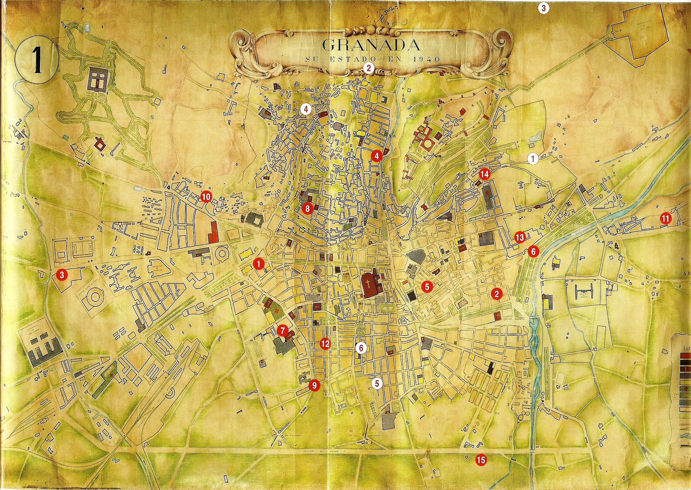 Mapa extraído del libro Hijos de una guerra, que detalla acciones y refugios de la partida.
