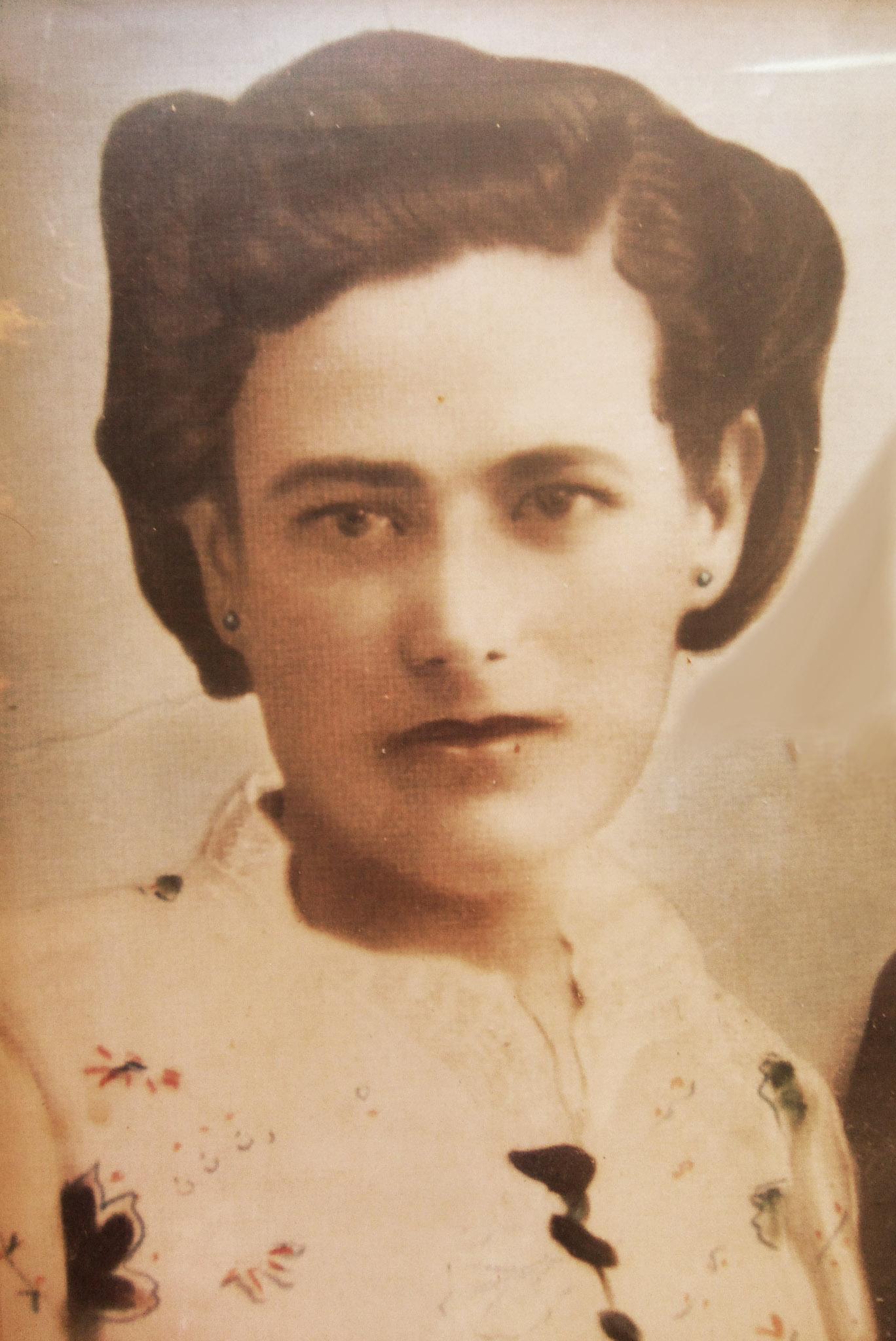 Flora Martín, una de las mujeres que se echaron al monte en Extremadura.