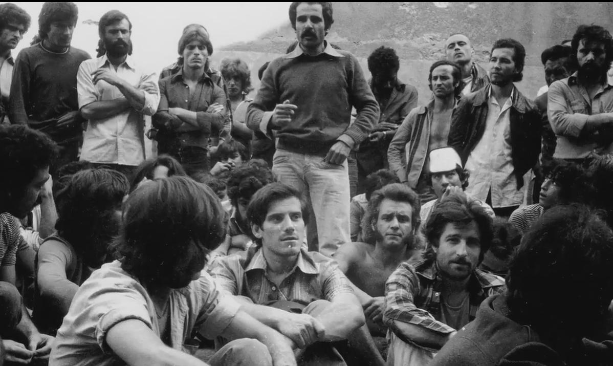 Una de las imágenes de los militantes de la COPEL.