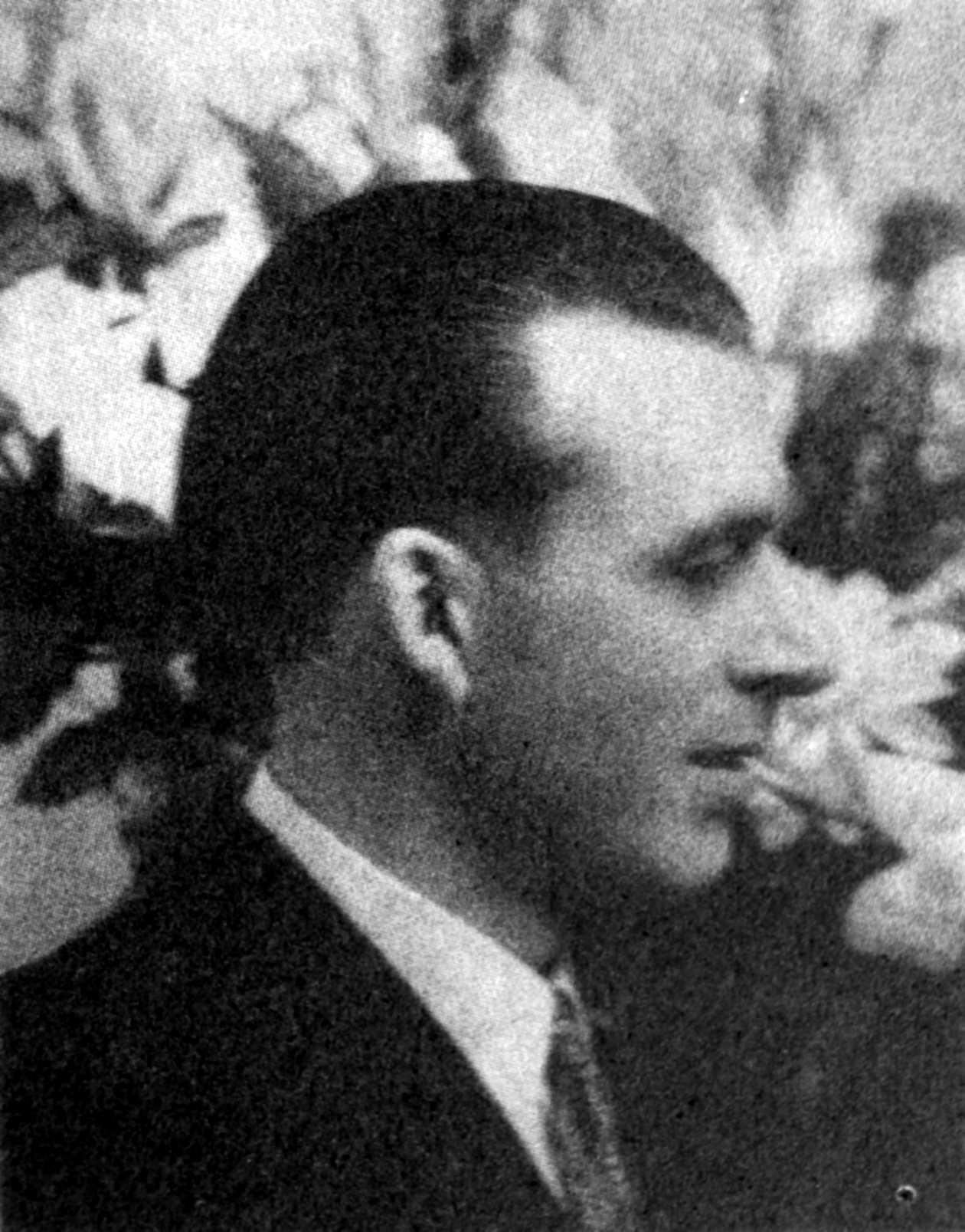 El guerrillero cervantino Abelardo Gutiérrez Alba.