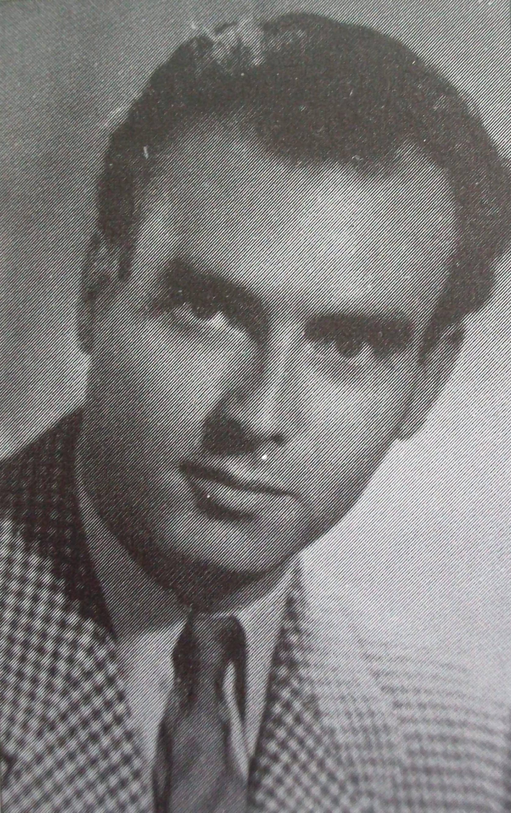 """Manuel Huet """"el Murciano"""", tripulante del Kanguro yresistente en París."""