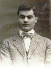 Eduardo QuintelaBóveda, en sus tiempos jóvenes.