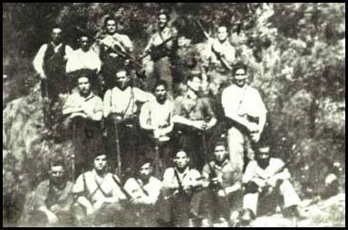 Mítica foto de la creación de la Federación en los montes de Ferradillo,1942.