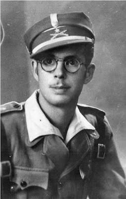 El teniente Manuel García Espinosa, muerto el 23-11-1947.