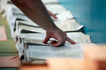 Las elecciones municipales y autonómicas de 2010 dejaron un mapa dominado por los partidos conservadores. Foto: Olmo Calvo