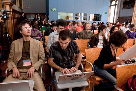 Imagen de una edición pasada del Free Culture Forum. Foto: FCF.