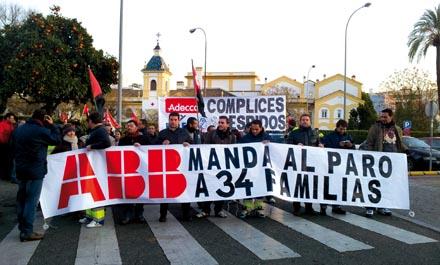 Trabajadores visibilizando el conflicto en Córdoba