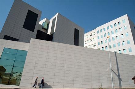 Complejo Hospitalario de CHOU (Ourense), de gestión privada / Foto: Óscar Pinal.