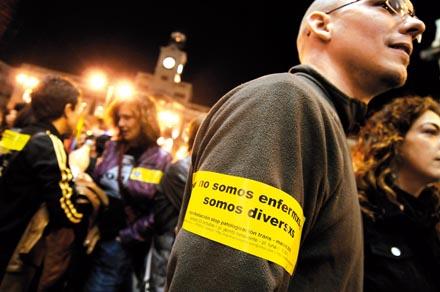 STOP PATOLOGIZACIÓN. Manifestación en Madrid / Foto: Diego González