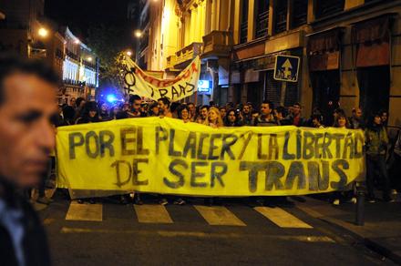 Manifestación en Madrid dentro de la jornada internacional del 22 de octubre. Foto: Álvaro Minguito
