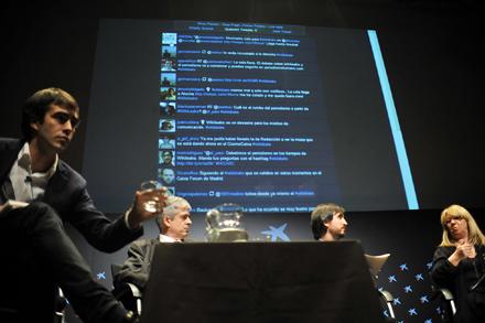 GOTEO. Poco a poco se van conociendo los entresijos de la propia Wikileaks. Foto: Olmo González.