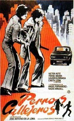 Cartel de la película 'Perros callejeros'Äô MATAIX