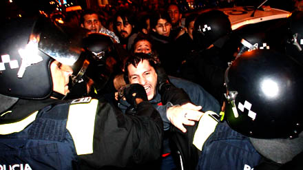 Imágenes de las cocheras de Carabanchel en Madrid. / Foto: Dani Sánchez.