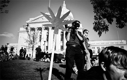 POR POCO. El rechazo a la Proposition 19 acerca del cannabis ganó por un margen de cerca de 600.000 votos. Foto: Megan Nault.