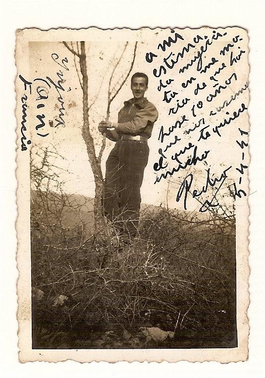 """""""El Yayo"""", en 1941, durante su exilio francés."""