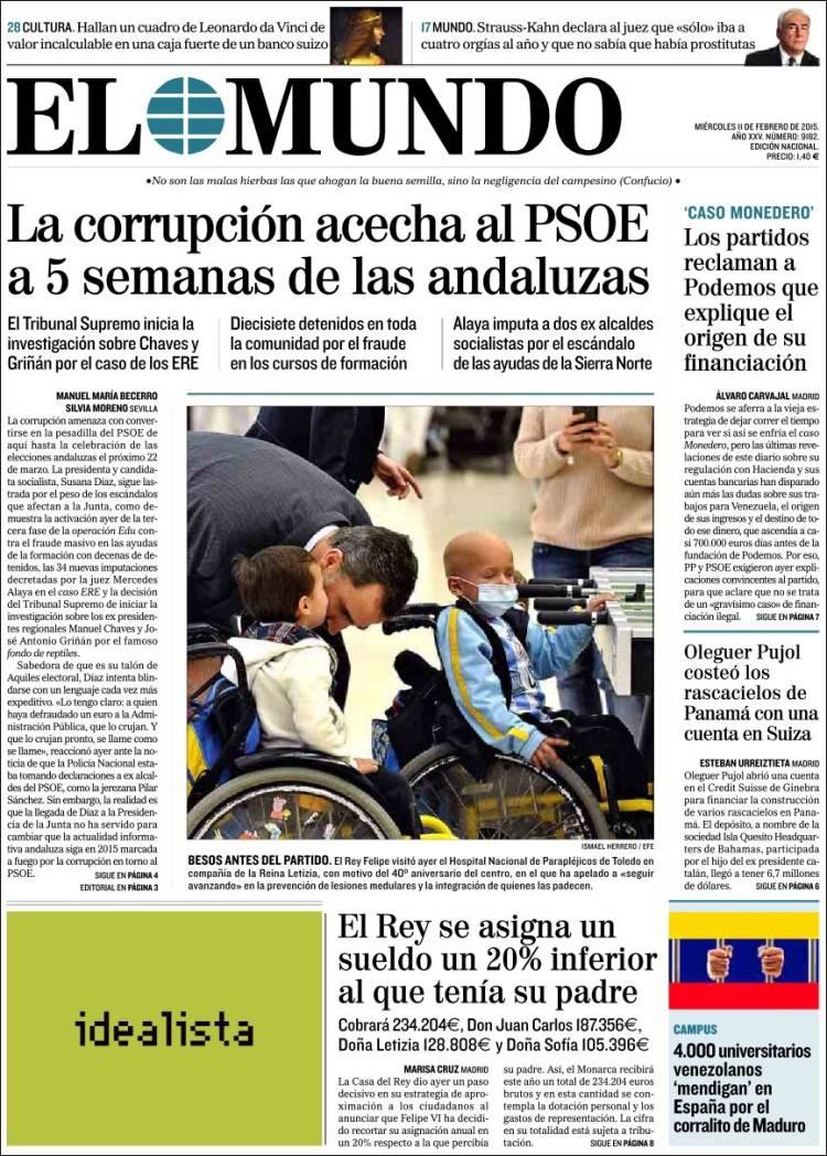 Venezuela las neveras vac as que s salen en portada peri dico diagonal - Casos de corrupcion en espana actuales ...