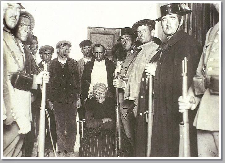 Pobreza y represión dominaron la vida en el campo andaluz.