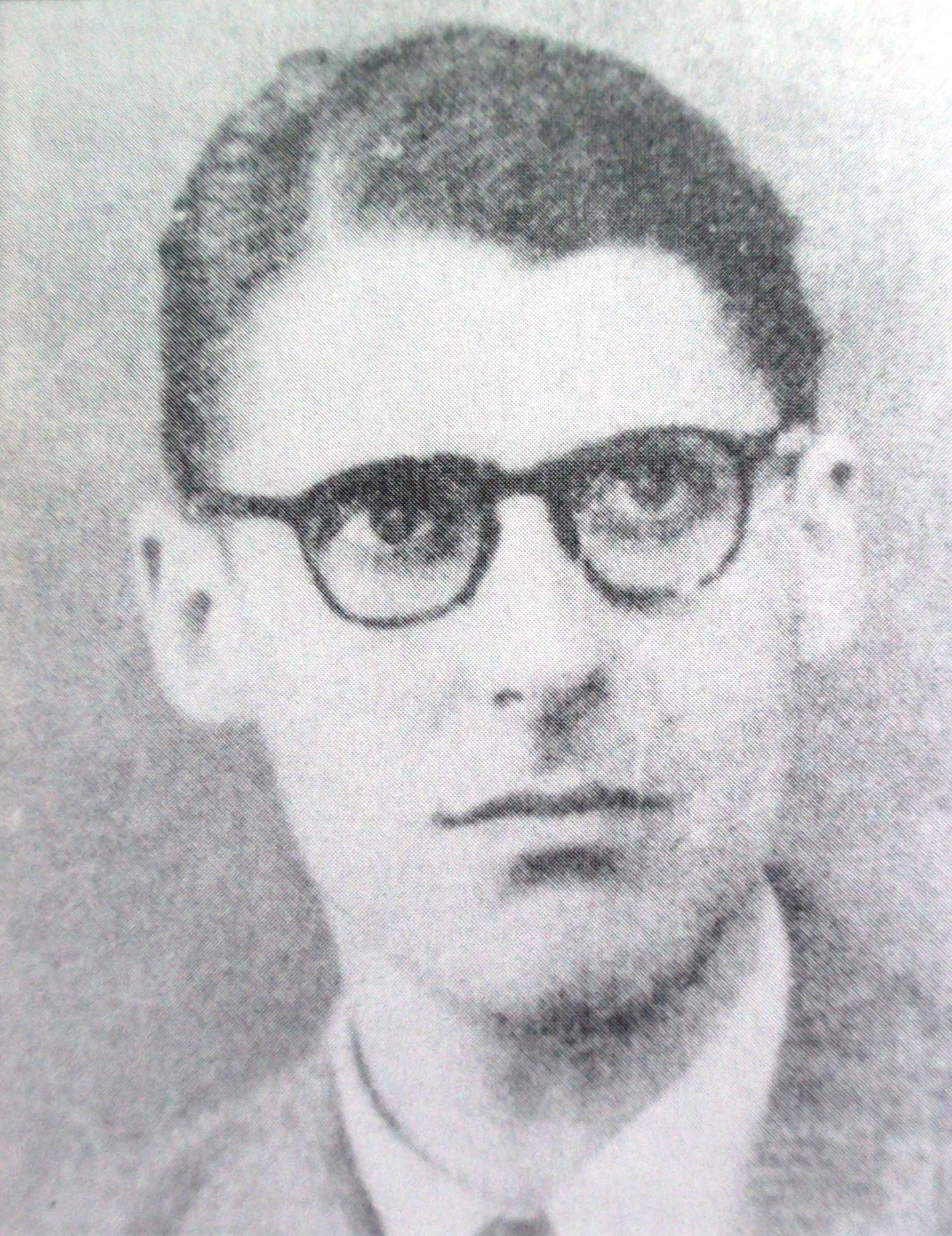 """RobertTerres""""el Padre"""", del servicio de espionaje francés."""