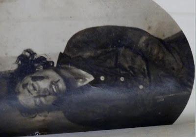 """Cadáver de Sagrario Vera Gordo """"la Jabalina""""."""