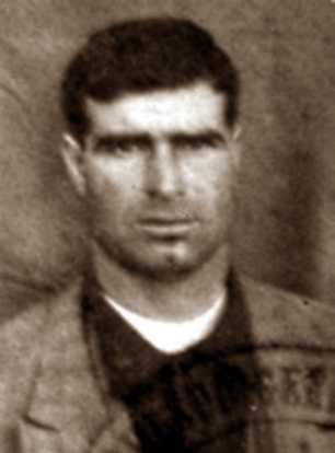 Foto encontrada al guerrillero caído José Sánchez Infantes.