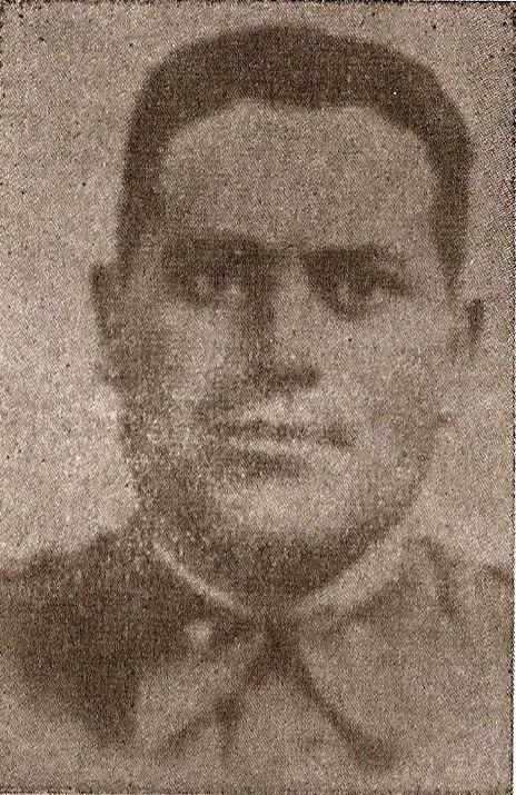 El sargento Antonio Gonzálezcabrera, muerto en diciembre del 43.
