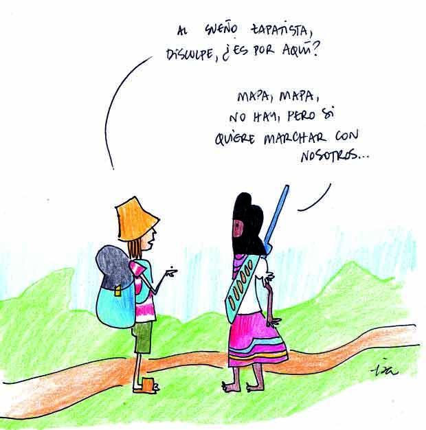Zapatistas: empeñados en el 'bien vivir'