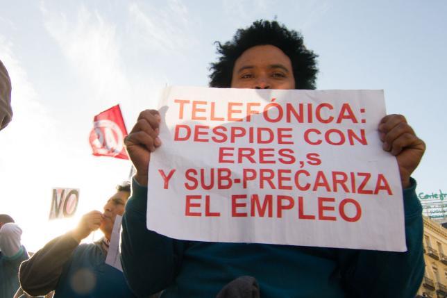 La rebelión de los esclavos de Telefónica-Movistar