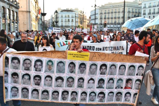 El sospechoso silencio del Gobierno español sobre los 43 de Ayotzinapa