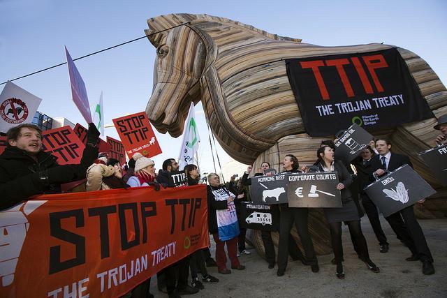 Barcelona, capital de la resistencia al TTIP
