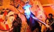 Escena de la 'Danza de los Nawales'Äô. El calendario sagrado maya consta de 20 nawales. Esta danza representa armonía, respeto y unidad entre la naturaleza y el ser humano GRUPO SOTZ'ÄôIL