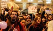 CABALGATA INDIGNADA. Marcha festiva el 28 de diciembre en Madrid. / Foto: Diego González