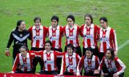 En la temporada 2002-2003 el equipo femenino del Athletic de Bilbao debutó en la máxima categoría. MIATHLETIC