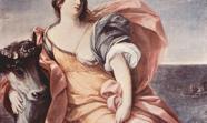 Fragmento del cuadro 'El Rapto de Europa', de Guido Reni