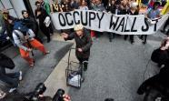 Manifestación de Occupy Wall Street el 1 de mayo. Foto: Asterix611