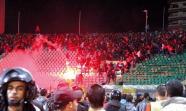 PORT SAID: El partido entre Al-Alhy y el equipo local sirvió de venganza a los militares.