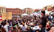 Asamblea del movimiento 15M en Valladolid. Foto: Jael Herrera.