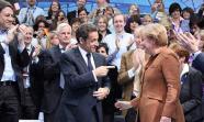 Sarkozy y Merkel en un encuentro de 2009 Foto: Junge Union Deutschland