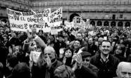 SALAMANCA. Una ola de movilizaciones recorrió a finales de 2007 la ciudad castellana para protestar por la subida de impuestos.