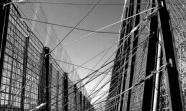 LA VALLA. Este sistema de vallas sucesivas (la sirga tridimensional) blinda los pocos kilómetros de la frontera de Melilla con Marruecos.