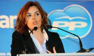 La vicepresidenta del Gobierno, Soraya Saénz de Santamaría, en una foto de febrero de 2011. Imagen: PPCYL