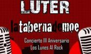 cartel III Aniversario de Los lunes al rock