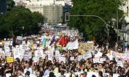 Cabecera de la manifestación de Democracia Real Ya en Madrid, 15 de mayo de 2011. Foto: Álvaro Herráiz San Martín