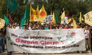 Marcha contra la central nuclear de Santa María de Garoña. FOTO: Héctor Pastor Fernández